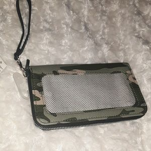 Camo wallet. New with tags